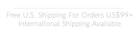 Free US Shipping on orders over US$99