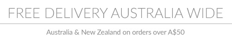 Free Australia Wide Shipping on Order over $50