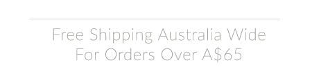 Free Australian Shipping